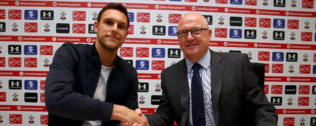 Alex McCarthy has joined Southampton