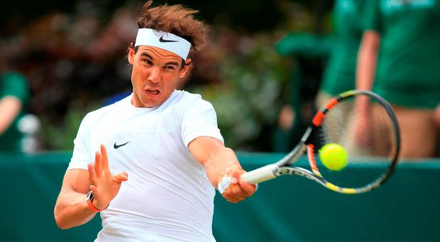 Nadal has conceded he is not yet sure that he will be able to represent Spain at the Rio Olympics as his fitness concerns linger. Photo :PA Wire