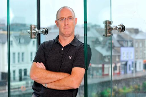 Business owner Declan Gray. Photo: Darragh McSweeney