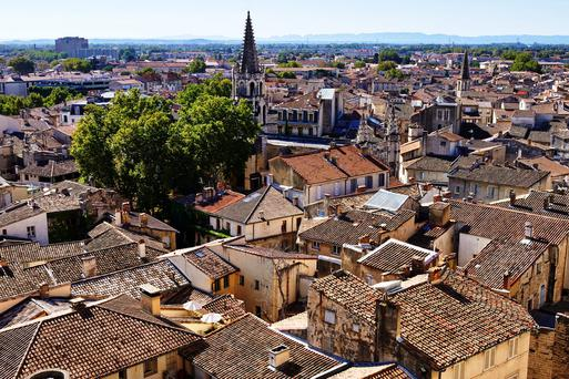 The 25-year-old was hospitalised after being brutally attacked with a motorcycle chain lock in the French city of Avignon. GETTY