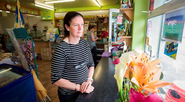 Geraldine Sullivan at her shop in Ardcorney, Nenagh Pic:Mark Condren