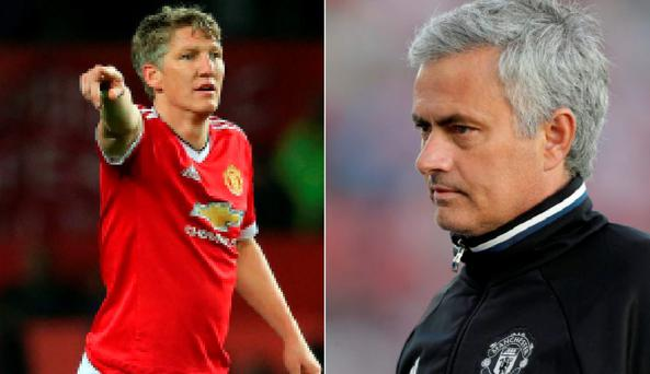 Bastian Schweinsteiger has been ousted by Jose Mourinho