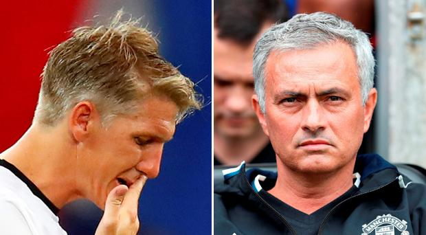 Bastian Schweinsteiger has been informed that he is not in Jose Mourinho's plans