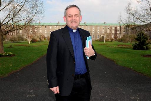 Monsignor Hugh Connolly, President of St Patrick's College, Maynooth, Co Kildare. Photo: Kenneth O'Halloran