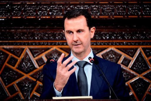 Russian air power began supporting Syrian President Bashar al-Assad (below) late last year, an intervention which tipped the balance of the war in Assad's favour, eroding gains the rebels had made that year.