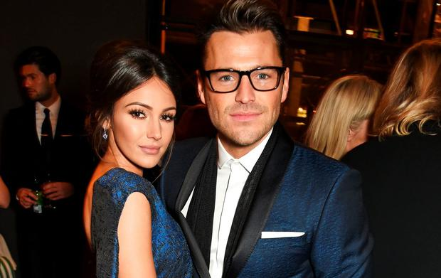 Michelle Keegan (L) and Mark Wright attend the 21st National Television Awards at The O2 Arena on January 20, 2016 in London, England. (Photo by David M. Benett/Dave Benett/Getty Images)