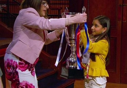 Rhea wins Channel 4's Child Genius.