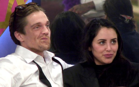 Lewis and Marnie. Photo: Channel 5