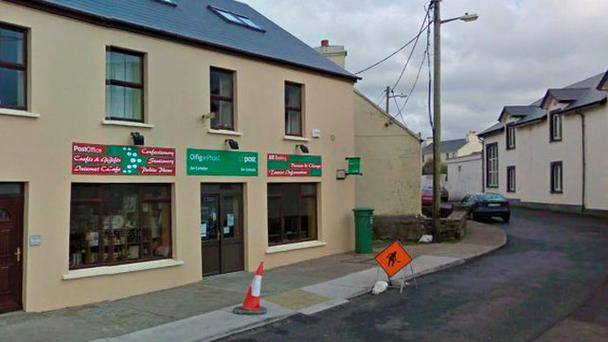 Robbery at the post office in Waterville. Picture: Google Street Vew