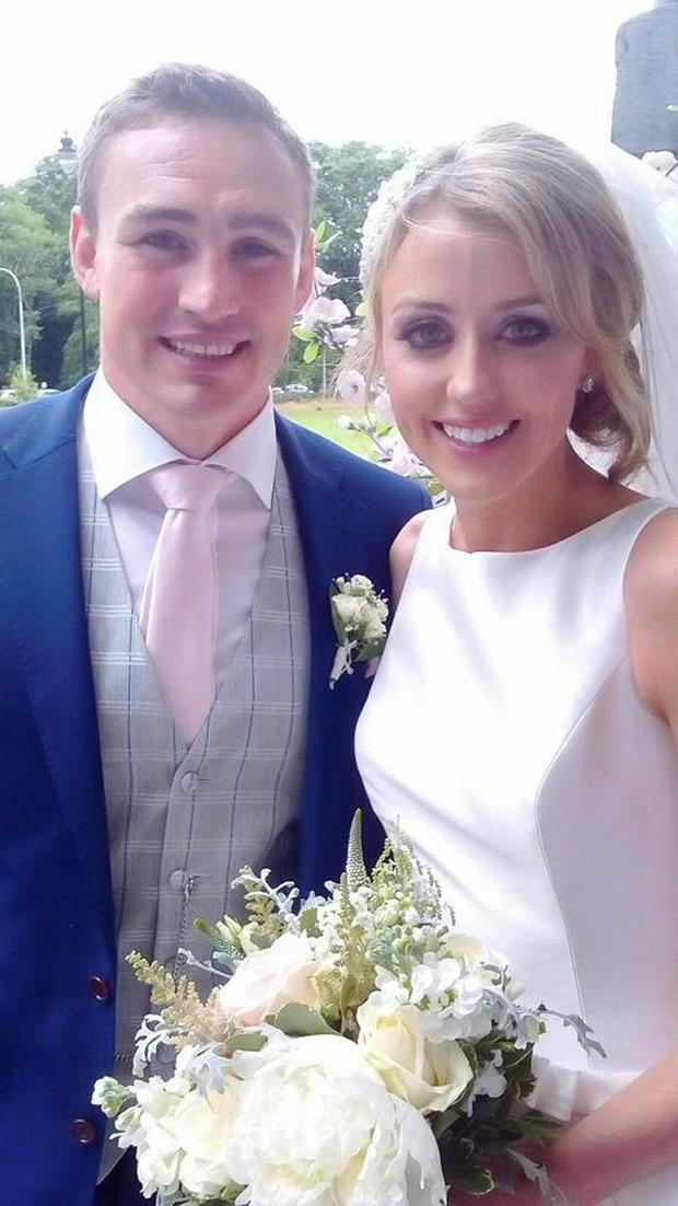 Tommy O'Donnell and Elisse O'Grady. Picture: Facebook