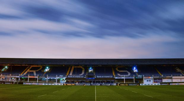 A general view of the RDS Arena. Photo by Ramsey Cardy/Sportsfile