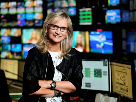 RTÉ's new director general Dee Forbes, left, has moved swiftly to reassure staff at the State broadcaster following the departures of five high-profile employees.