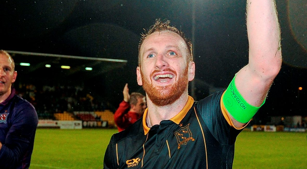 Stephen O'Donnell was singled out for special praise by Martin O'Neill after Dundalk's heroic victory over BATE Borisov on Tuesday night. Photo: Seb Daly/Sportsfile