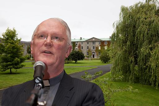 Fr Brendan Hoban has fears over sending trainees to Rome and (inset) St Patrick's College. Photos: Gareth Chaney / Arthur Carron