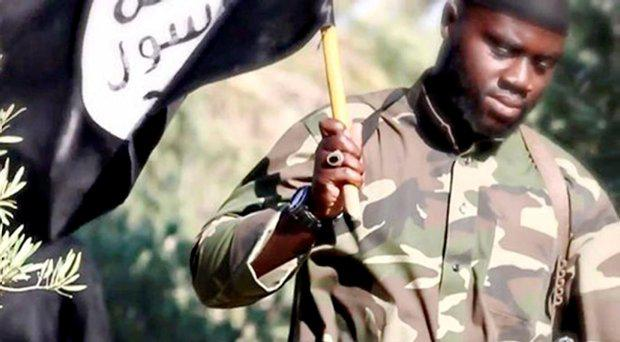 Harry Sarfo's appearance in an Isis propaganda video issued in August 2015