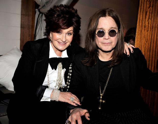 Sharon Osbourne and Ozzy Osbourne attend the 2009 Fox Winter All-Star Party at My House on January 13, 2009 in Los Angeles, California. (Photo by Kevin Winter/Getty Images)