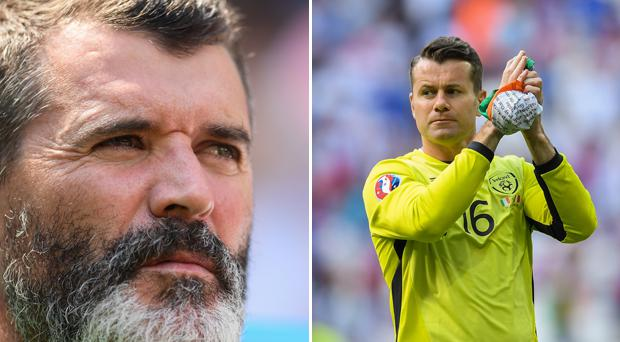 Roy Keane played a huge role in Shay Given's Ireland return