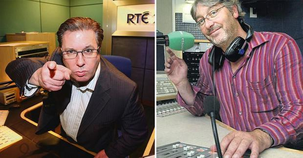 Gerry Ryan (L) and Colm Hayes (R)