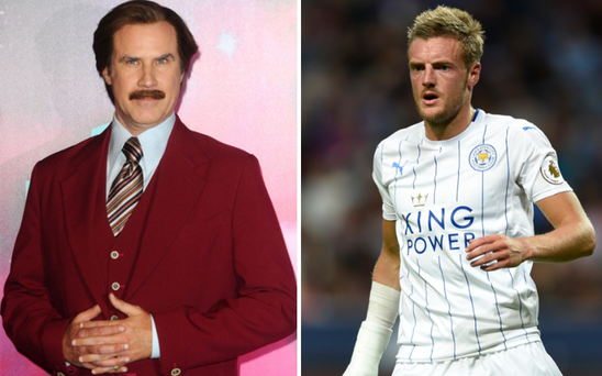 Will Ferrell has put himself forward to play Jamie Vardy in the striker's biopic