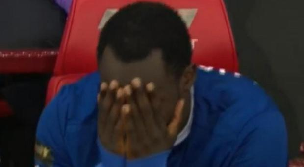 Lukaku appeared to react to news of Martinez's appointment