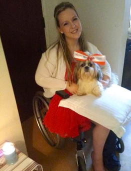 Sarah Clifford is asking the public to crown her dog Freya Nose of Tralee.