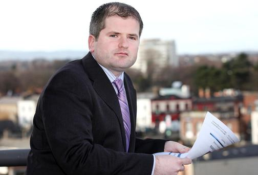 Dermot O'Leary, Chief Economist of Goodbody Stockbrokers. Photo: Maxwell's