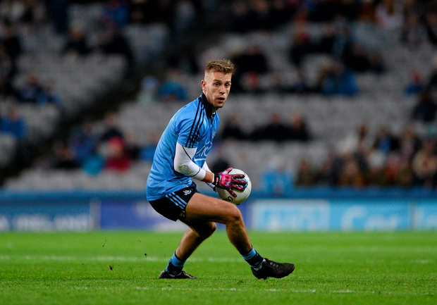 Jonny Cooper may well be tasked with marking Donegal hit-man Patrick McBrearty at Croke Park tomorrow. Pic: Sportsfile.