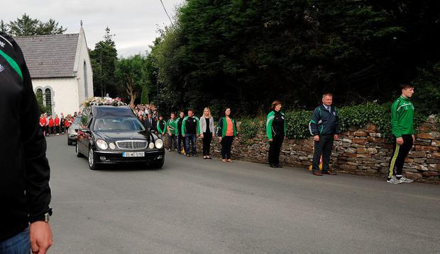 Funeral of Jessica Needham in Islandeady, Co Mayo. Picture: Conor McKeown