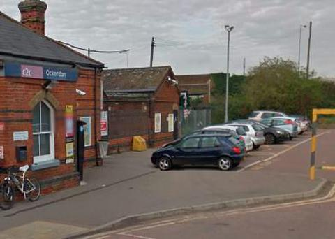 Ockendon rail station Credit: Google Maps