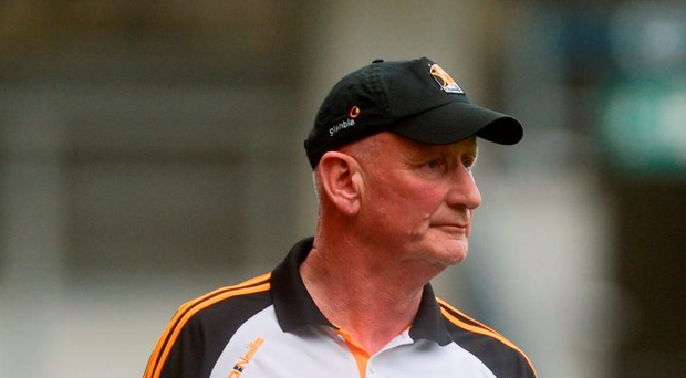 Kilkenny manager Brian Cody during the Leinster GAA Hurling Senior Championship Final match against Galway. Photo: Sportsfile