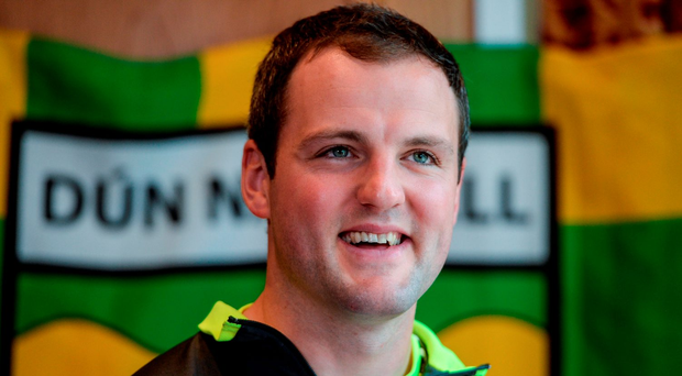 Michael Murphy is in his sixth year as the captain of Donegal. Photo: Sportsfile