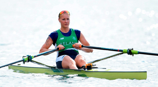 Sanita Puspure: 'I want to do my coach justice, my family and myself'. Photo: Sportsfile