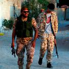 Fighters from the pro-government forces loyal to Libya's Government of National Unity. Photo: Getty Images