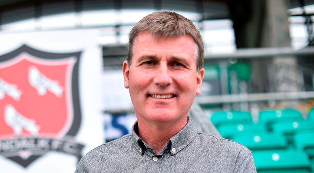 Stephen Kenny is due to take in Legia's Ekstraklasa Sunday evening meeting with Piast Kenny in Warsaw spying mission Gliwice in their 31,000 capacity stadium. Photo: Sportsfile