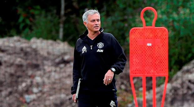'At least this time, Mourinho is not pretending to be the calmer, more rounded individual he claimed to be when he arrived back at Chelsea three years ago.' Photo by Nigel Roddis/Getty