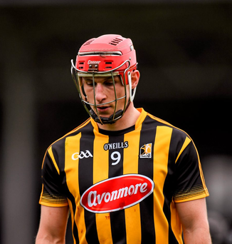 Cillian Buckley of Kilkenny, following his side's defeat in April. Photo: Sportsfile