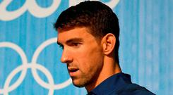 "Michael Phelps this week said he's never ""competed in a clean sport"". Photo: Getty"