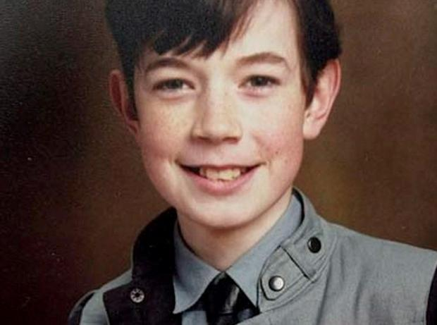 DISAPPEARED: Philip Cairns vanished on the way to school