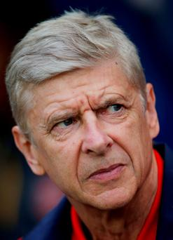 Arsene Wenger is still judged in the broader context of it being 12 years since his 'Invincible' season. Photo: Reuters