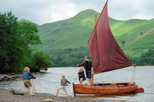 The rugged beauty of the Lake District is captured in the movie adaptation of Arthur Ransome children's classic, Swallows and Amazons