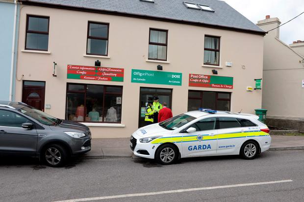 Waterville Post Office in County Kerry. Photo: Don MacMonagle