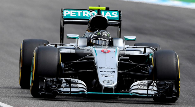 Just seven races back Nico Rosberg enjoyed a 43-point championship lead. This looked to be his year. Photo: AP Photo/Jens Meyer