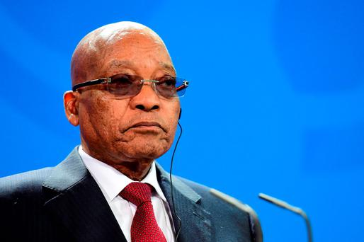 ALL THE PRESIDENT'S MIEN: Jacob Zuma is well known for his antipathy towards urban black intellectuals. GETTY