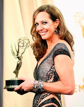 Alison Janney is in 'Mom'. Photo by Mark Davis/Getty Images