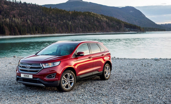 Too Large for us: The Ford Edge is supersized America on wheels. Photo: Donald MacLellan/Getty Images