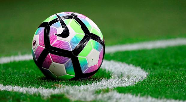 New Premier League ball. Photo: Andrew Matthews/PA Wire