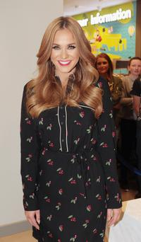 Vicky Pattison signs copies of her book