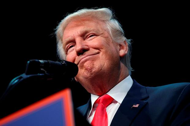 Donald Trump: 'We have seen the emergence of a discourse based on 'Us and Stereotyped Them'. Based on building walls to exclude and billing the excluded for the building'. (AP Photo/Evan Vucci)