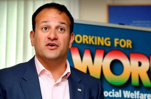 Minister for Social Protection, Leo Varadkar. Pic Tom Burke