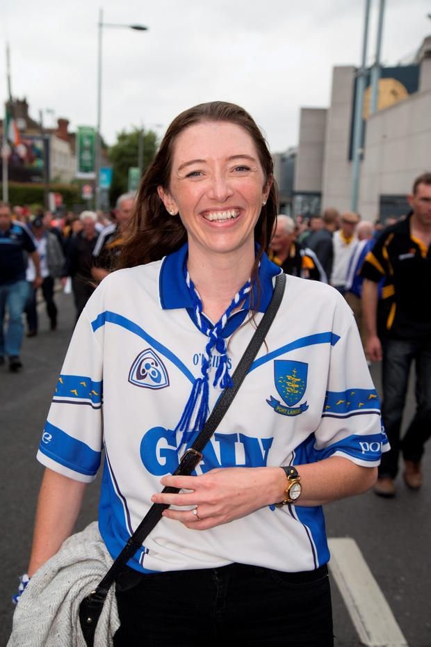 Waterford supporter Helen Murphy. Picture by Fergal Phillips